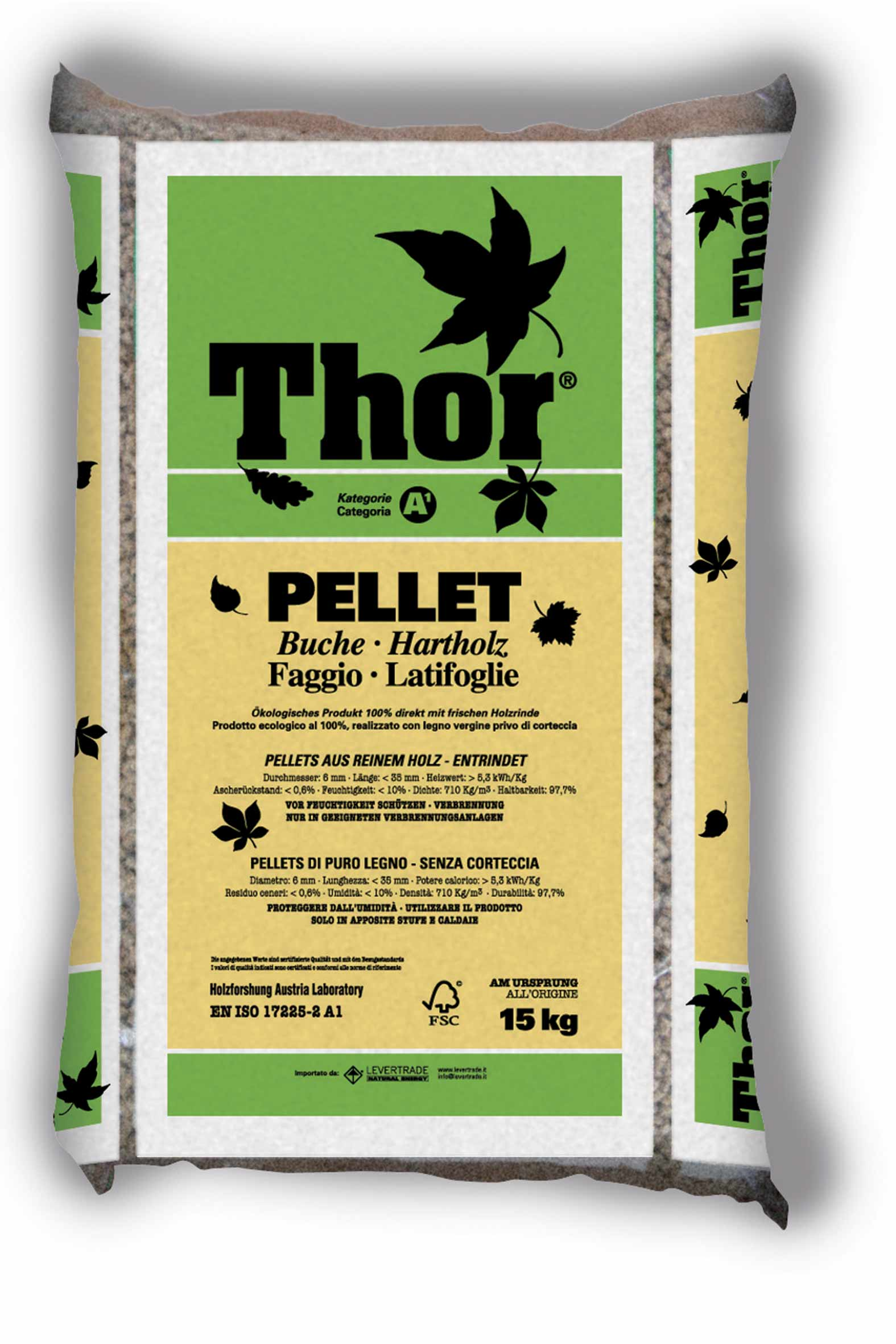Levertrade - Pellet Thor